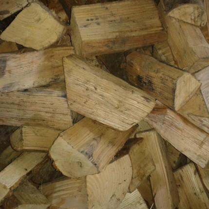 Seasoned Split Hardwood Loose Logs