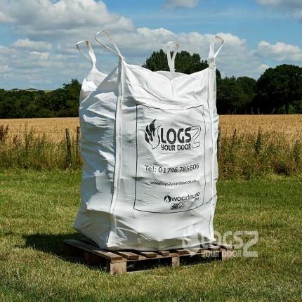 Bulk Bag Of Barn Stored Logs