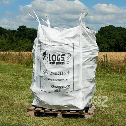 Bulk Bag Of Seasoned Logs