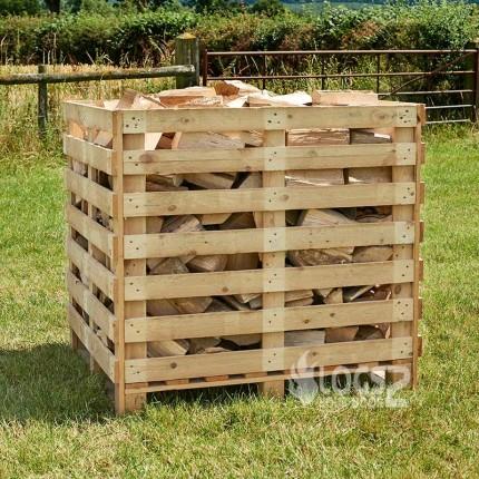 Box of Seasoned Logs