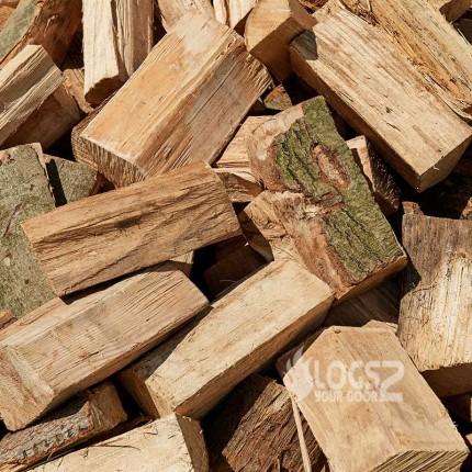 Kiln Dried Split Hardwood Loose Logs