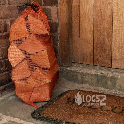 Netted Bag Seasoned Logs Bulk Buy